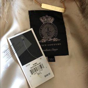 Juicy Couture Blonde Wilde Faux Fur Jacket M/L